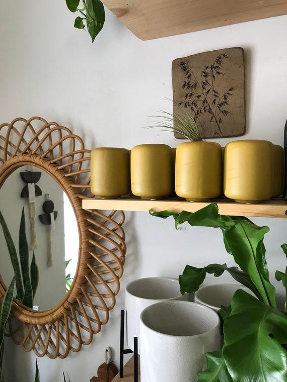 Mod Mustard Vase
