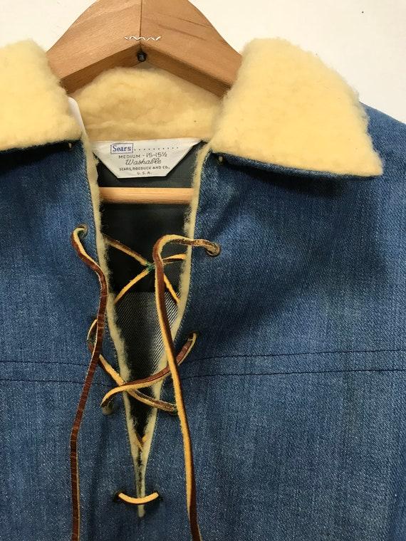 Vintage Denim Pullover