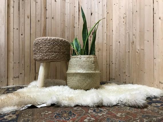Fluffy Vintage Sheepskin Rug