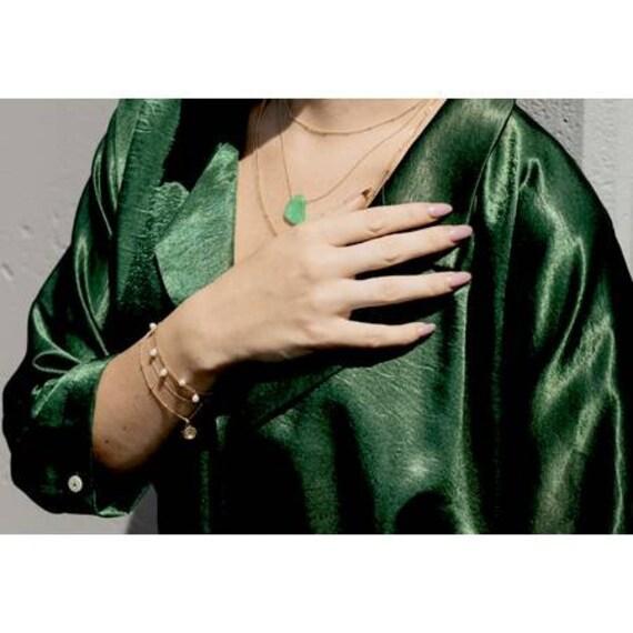 Five Pearl Bracelet