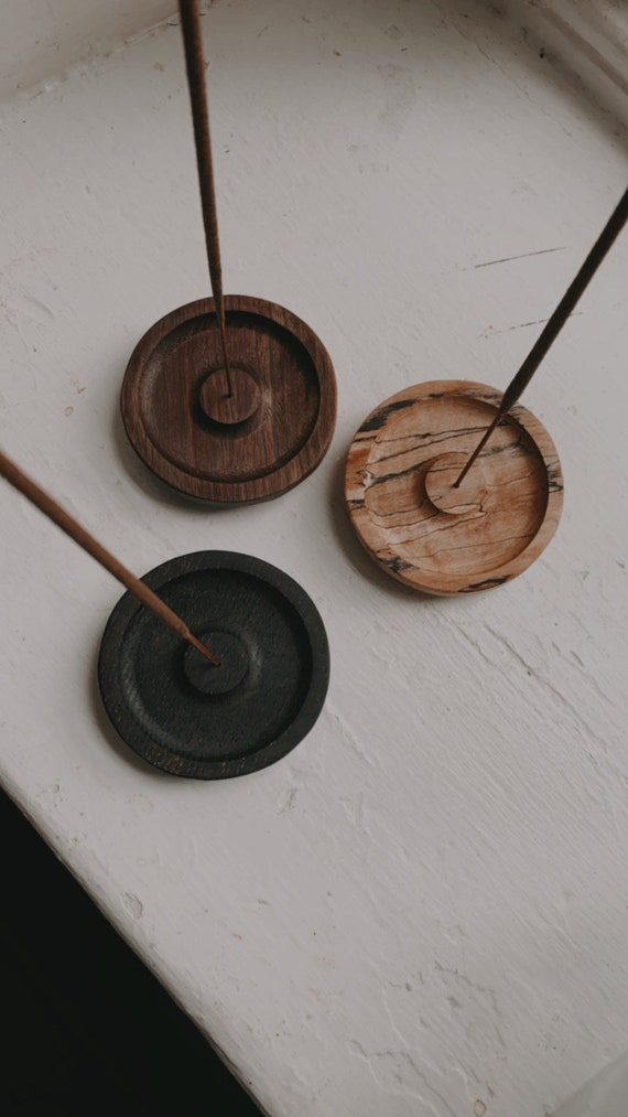 Round Incense Holder