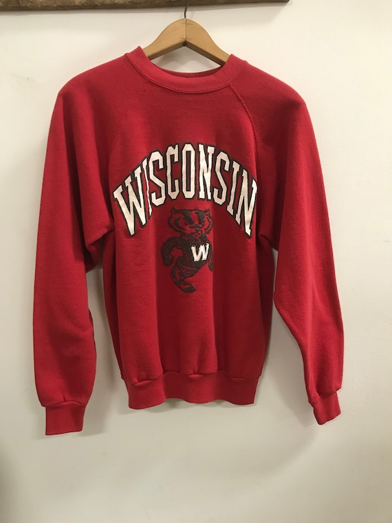 Vintage University Of Wisconsin Pullover