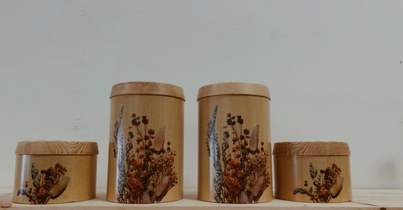 Vintage Cheinco Canister Set