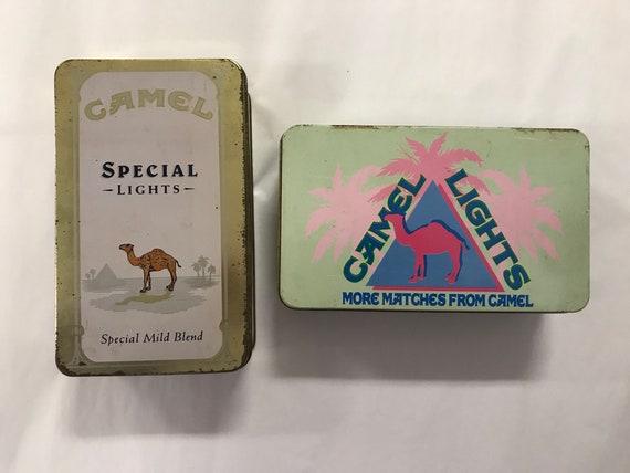 Instant Camel Lights Vintage Matchbox Tin Collection