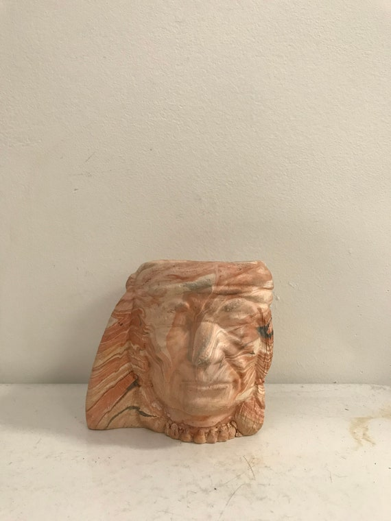 Vintage Indian Head Planter