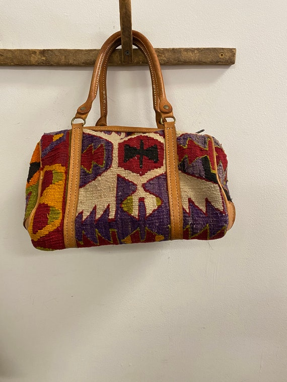 Vintage Kilim Speedy Bag