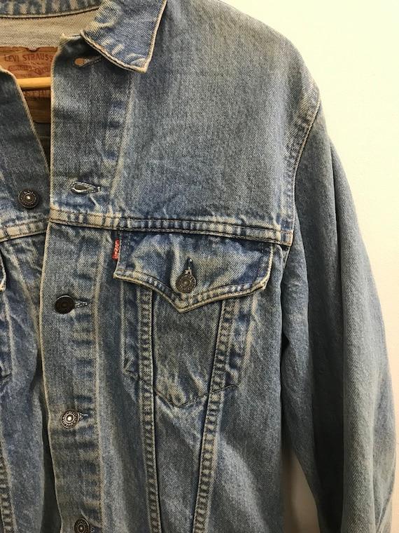Vintage Levi's Unisex Denim Jacket # 6
