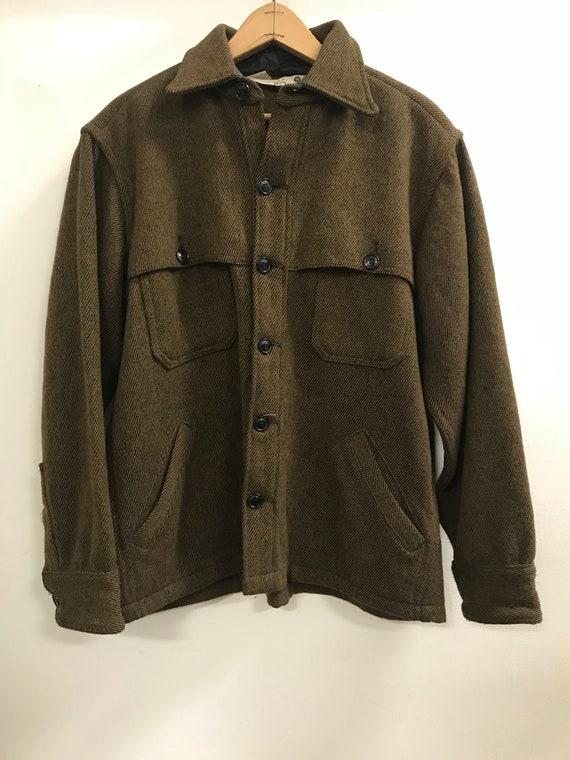 Vintage Woolrich Buttondown Coat
