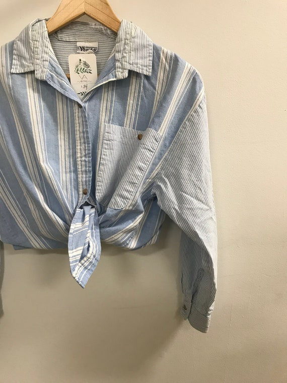Vintage Slouchy Unisex Button Up