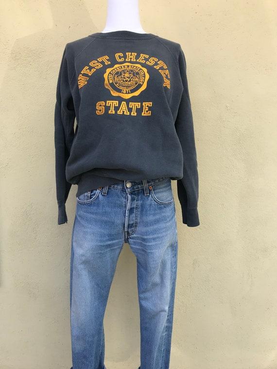 Vintage West Chester State Crewneck Sweatshirt