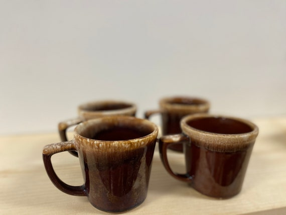 Vintage McCoy Pottery Mug Set of 4