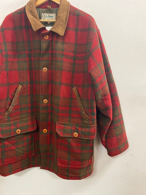 Vintage LL Bean Plaid Jacket