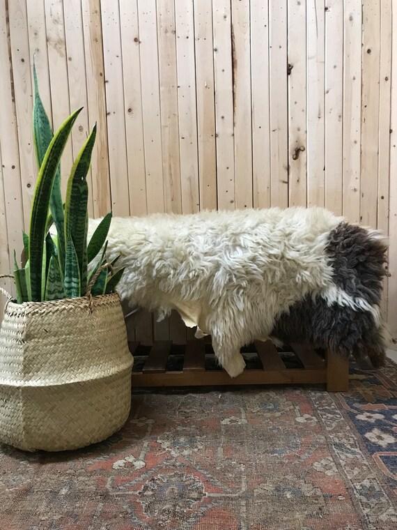 Vintage Sheepskin Rug
