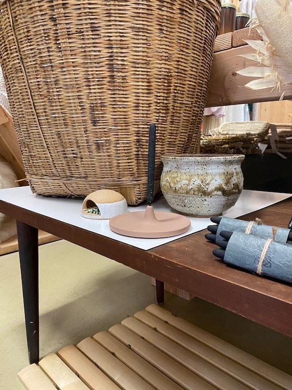 Natural Modern Ceramic Incense Holder