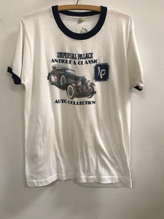 Vintage Auto Collection Ringer Tee