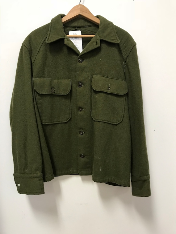 Army Flannel Jacket