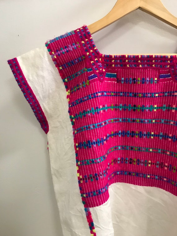 Linen + Cotton Blend Huipil