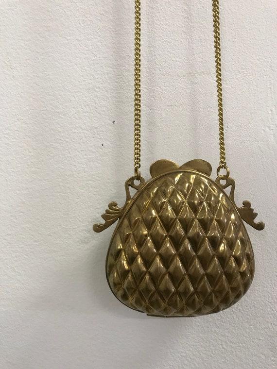 Vintage Brass Purse