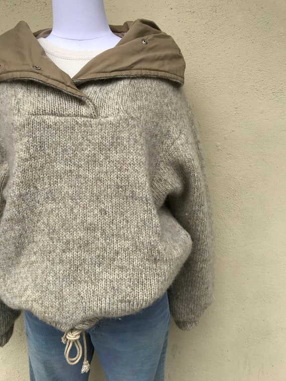Vintage Made In Iceland Pure New Wool Pull over