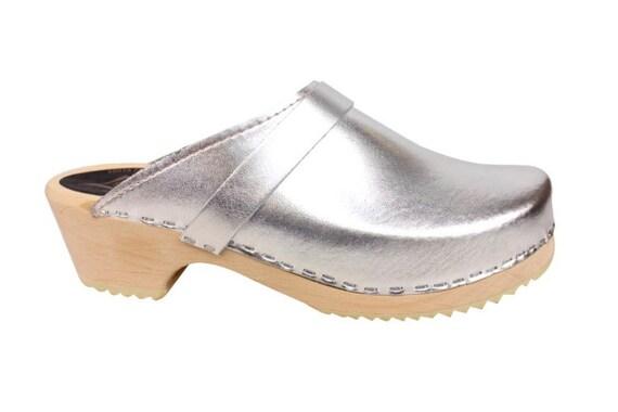 Classic Silver Clogs