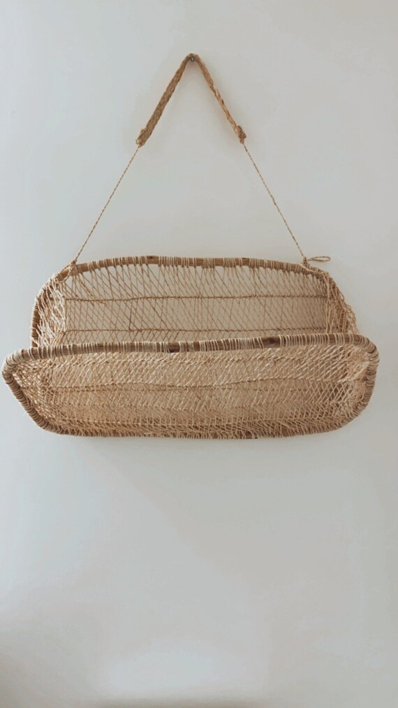 Handmade Wall Basket
