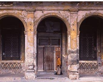 Old Man, Old Havana, Cuba, Signed Art Print / Cuban Street Photography / Havana City Architecture Photo