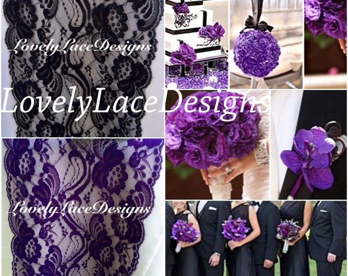 navy blue teal purple lovelylacedesigns