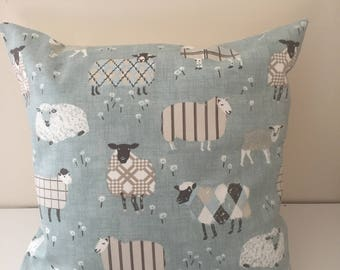 Novelty sheep pattern cushion cover