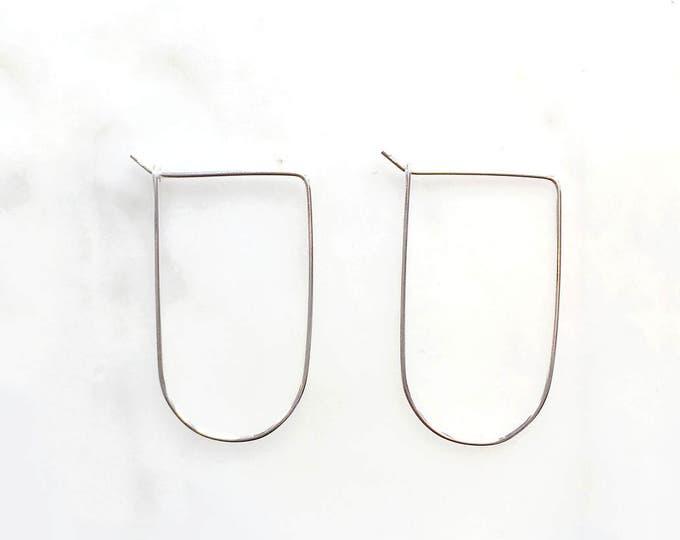 14k Gold Filled Disc Drop Earrings