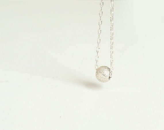 Tiny Round Bead Necklace
