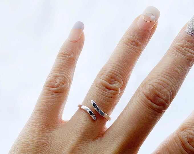 925 Sterling Silver Knuckle Ring/