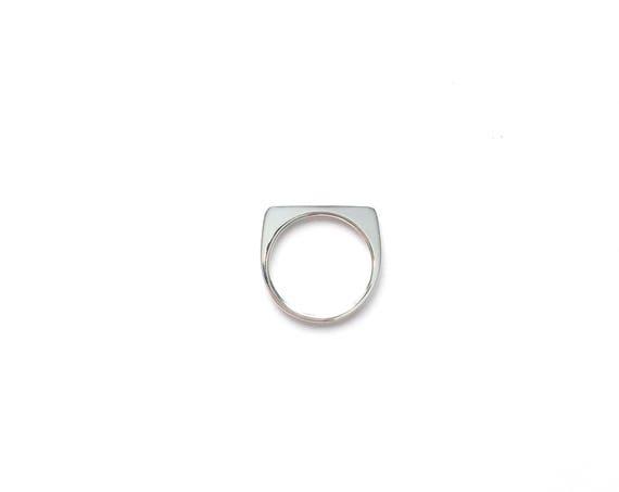 Silver Bar Rings