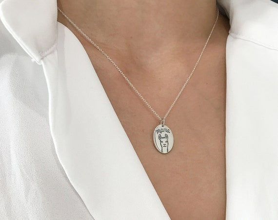 Mama Llama Necklace