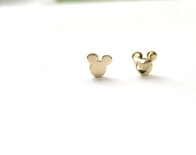 Tiny Mickey Mouse Earrings