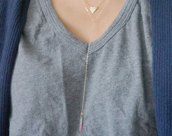 Long Layering Necklace Set