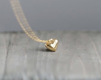 14k Gold Filled Heart Necklace