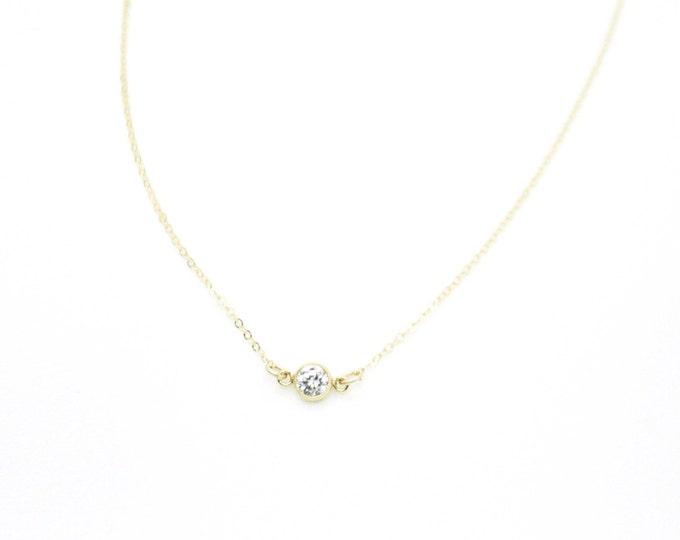 CZ Diamond Necklace