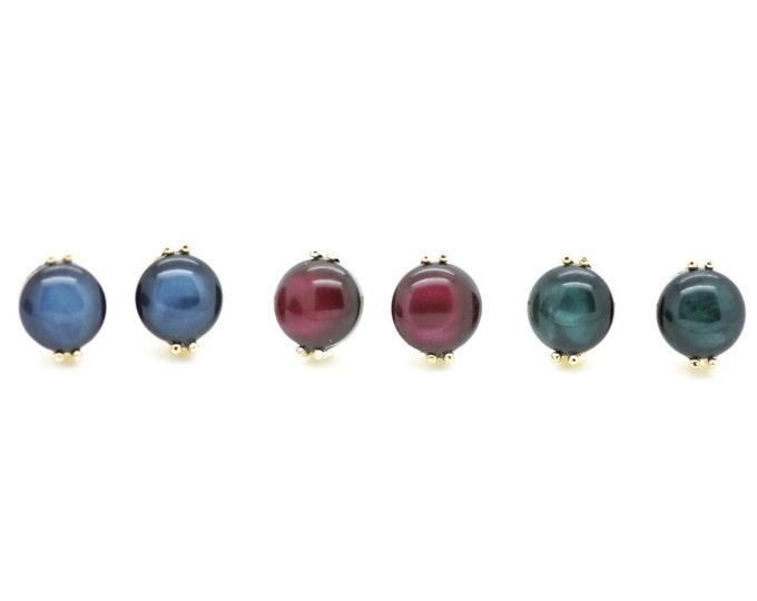 Post Earrings / Titanium Posts in gold / Nickel Free Earrings