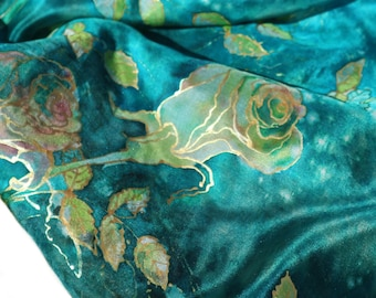 Silk Painting With Love