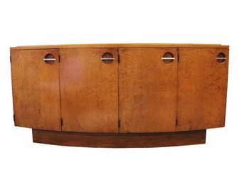 Art Deco Gilbert Rohde For Herman Miller Burlwood Credenza