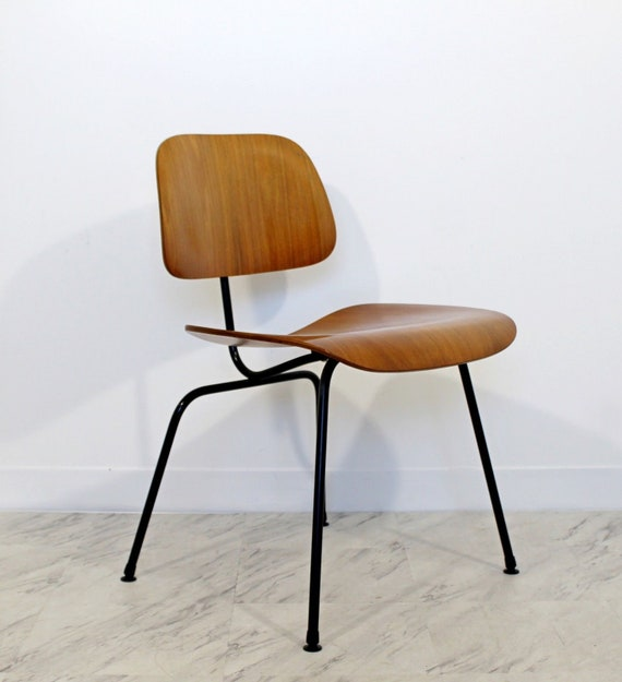 Mid Century Modern Vintage Eames Lcm Lounge Desk Chair By Etsy