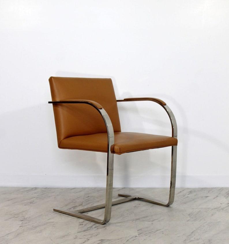 476179d0c4f3 Mid Century Modern Mies Van der Rohe BRNO Style Flat Bar