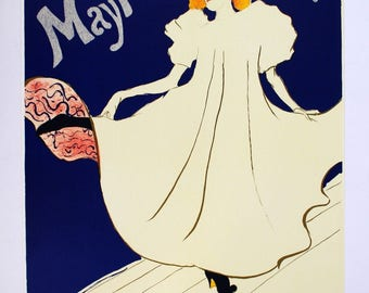 Unframed Stamped by Museum Toulouse Lautrec Mary Milton 1976