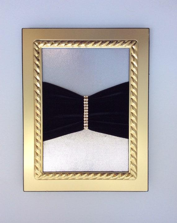 Vintage brooch art, Large tiger or cat brooch, rh… - image 7