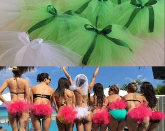 Free Bride Booty Veil Bachelorette Group Bikini Veils Discounted, Booty Veils, Custom Group Booty Veils must buy 3 or more for free bride