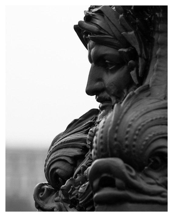 fine art photography, Paris photography, Paris, Pont Neuf, Black & White, Giclée print, 5x7 inch, 8x10 inch, Wall Decor, Home Decor, Photo
