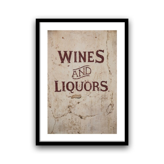 Saloon Sign, Urban Decay, Abandoned Bar, 5x7 8x10, Wall Art, Rustic Home Decor,  Red Cream Fine Art Photography, Western Print, Easter Gifts