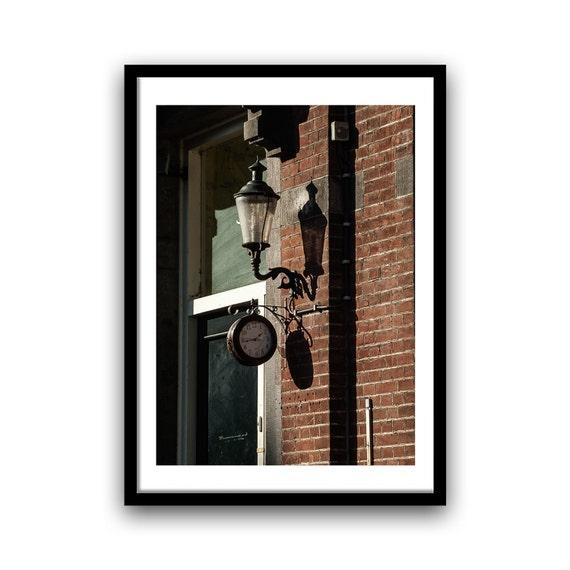 Fine Art Print, Rustic Decor, Vintage Clock, 5x7, 8x10, Wall Decor, Home Decor, Vintage, Black, Brown, Fine Art Photography