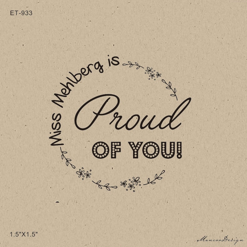 65b75a9c01984 is proud of you stamp-Teacher Gift -Teacher Grading Stamp Stamp - Teacher's  Great Job Custom Stamp- well done teacher gift - custom stamp