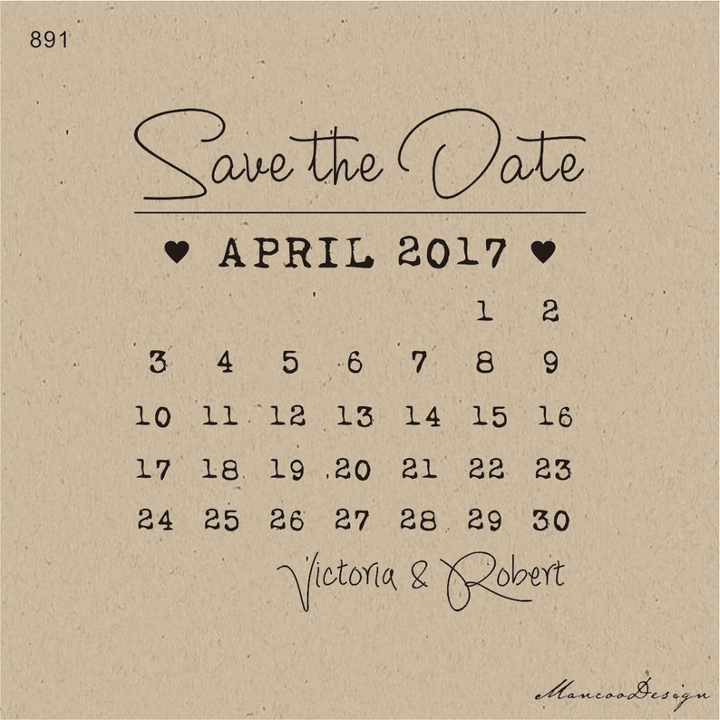 Save The Date Stamp Personalized stamp CUSTOM Wedding STAMP Personalised Rubber Stamp Wedding  Stamp Name and date stamp